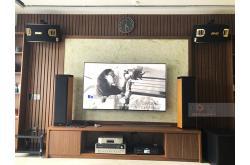 Lắp đặt dàn karaoke gia đình anh Thành tại Hải Phòng (BMB 900SE, BKSound DKA8500, SPL150)