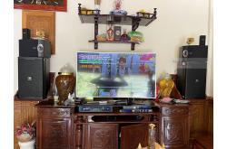 Lắp đặt dàn karaoke gia đình anh Thông tại Quảng Ninh (JBL KP6012, Crown T7, KX180, WXC-50, VM200)
