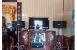 Lắp đặt dàn karaoke gia đình anh Trường tại Nam Định (BMB 312SE, BKSound DKA8500)