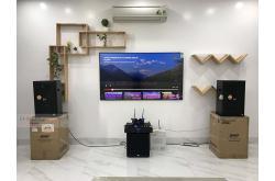 Lắp đặt dàn karaoke chú Giang tại Hải Phòng (BMB 1212SE, Crown Xli2500, KX180, A120P,  JBL VM200)
