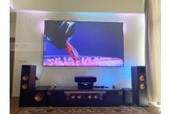 Lắp đặt dàn xem phim - nghe nhạc anh Hùng tại Hà Nội (Klipsch RP8000F, RP502S, RP504C, SPL120, Denon X4700H)