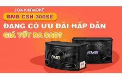 Loa karaoke BMB CSN 300SE đang có ưu đãi hấp dẫn, giá tốt ra sao ? Tham khảo liền đây