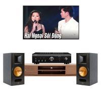 Dàn nghe nhạc mini BC02 (Klipsch RB 81II + Denon PMA-600NE)