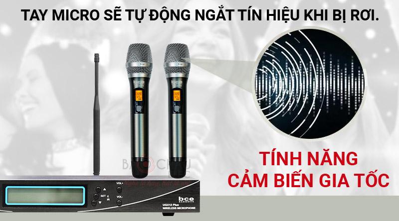 Micro không dây BCE UGX12 Plus tay micro 5