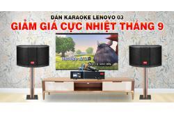 Khám phá bộ Dàn karaoke Lenovo 03 đáng mua tháng 9, nghe đâu giá bán giảm cực nhiệt