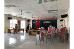 Lắp đặt dàn âm thanh hội trường Công An huyện Kiến Thuy - Hải Phòng