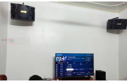 Lắp đặt dàn karaoke anh Giang tại Nam Định (BMB 312SE, DAD 950, KPS-50, TS212Sub, WB-5000)