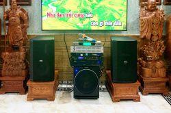 Lắp đặt dàn karaoke anh Hào tại Bắc Ninh (BIK 412, VM620A, BPR6000, Sub2000, UGX12, BKSound M8...)