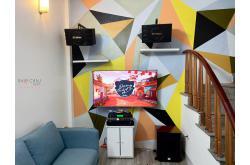 Lắp đặt dàn karaoke anh Trường tại Hà Nội (BJ-S668, VM620A, KX6, SW612C, BCE U900 Plus X)