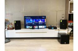 Lắp đặt dàn karaoke gia đình anh Bình tại Hà Nội (Domus DP6100, BKSound DKA6500, SW512B)