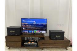 Lắp đặt dàn karaoke gia đình anh Đăng tại Hải Phòng (BIK BJ-S668, VM420A, BKSound KX6, U900Plus)