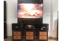 Lắp đặt dàn karaoke gia đình anh Đông tại Hải Phòng (BMB 312SE, VM620A, KX180, UGX12 Gold)