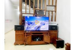 Lắp đặt dàn karaoke gia đình anh Hưng tại Hưng Yên (BIK BJ-S668, BKSound DKA 5500, SW312C)