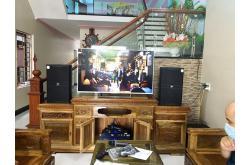 Lắp đặt dàn karaoke gia đình anh Lực tại Bắc Giang (JBL KP4012, Crown T5, KX180, VM200, A120P)