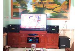 Lắp đặt dàn karaoke gia đình anh Lương tại Bắc Ninh (BMB 312SE, VM820A, BPR8500, BJ-W30, BJ-U550)