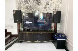 Lắp đặt dàn karaoke gia đình anh Mạnh tại Hà Nội (MTS12, Crown T5, KX180, R120SW, JBL VM200, BKSound M8)