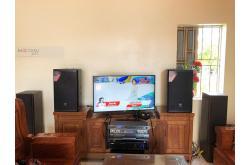 Lắp đặt dàn karaoke gia đình anh Phúc tại Hà Nội (JBL MTS12, VM620A, BPR8500, SW512B)