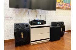 Lắp đặt dàn karaoke gia đình anh Quang Anh tại Hà Nội (BMB 312SE, BKSound DKA 8500, R120SW)