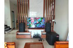 Lắp đặt dàn karaoke gia đình anh Quyết tại Hải Phòng (BIK BSP 412, VM620A, KX180, TS315S, UGX12)