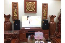 Lắp đặt dàn karaoke gia đình anh Thuật tại Bắc Giang (JBL XS12, Crown T7, JBL KX180)