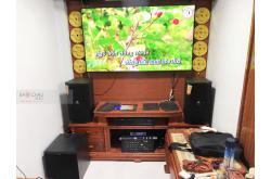 Lắp đặt dàn karaoke gia đình anh Tiến tại Hà Nội (JBL XS10, BIK VM620A, JBL KX180, JBL VM200)