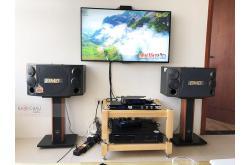 Lắp đặt dàn karaoke gia đình anh Vững tại Hà Nội (BMB 880SE, VM620A, KX180, JBL VM200)