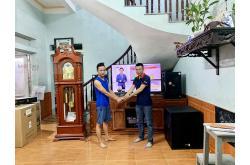 Lắp đặt dàn karaoke gia đình Diệu tại Bắc Ninh (BMB CSS 1212SE, TD8004, Domus 18C, K9900II)