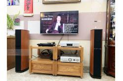Lắp đặt dàn nghe nhạc cho anh Lợi tại Hà Nội (Jamo D590, PMA 1600NE, DCD 1600NE, Denon DP-400)