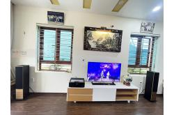 Lắp đặt dàn nghe nhạc cho anh Tâm tại Hải Phòng (Sonus Faber Lumina III, Yamaha R-N803)