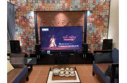 Lắp đặt dàn nghe nhạc, xem phim cho anh Minh tại Hà Nội (NS-F700, NS-B330, NS-C444, RX-V6A, NS-SW300)