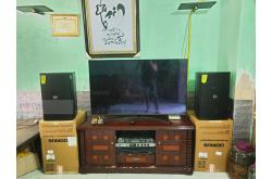 Lắp đặt, nâng cấp dàn karaoke gia đình anh Công tại Hà Nội (Domus DP6120, APP MZ-86, BKSound KX6)
