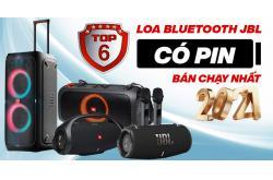 Top 6 Loa bluetooth JBL có pin bán chạy nhất 2021