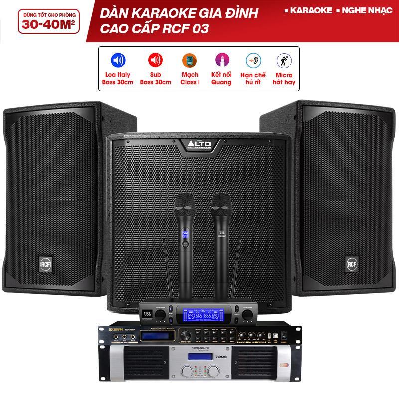 Dàn karaoke gia đình cao cấp RCF 03