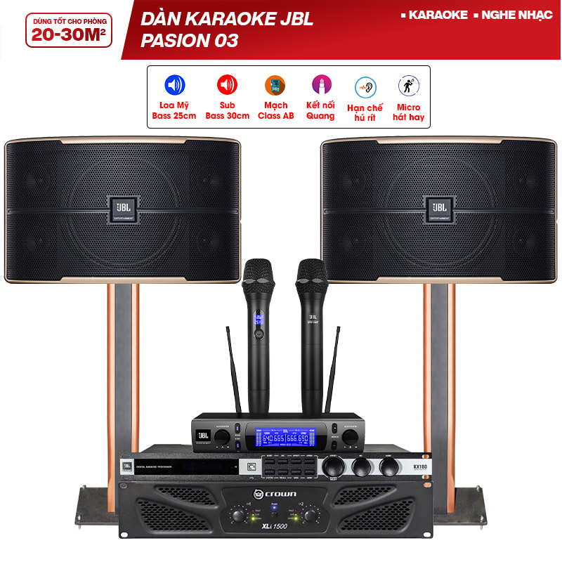 Dàn karaoke JBL Pasion 03