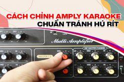 Bật mí chỉnh Amply karaoke chuẩn tránh bị hú rít