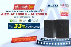Đặt trước Loa full karaoke Alto đến từ USA giảm tới 33%