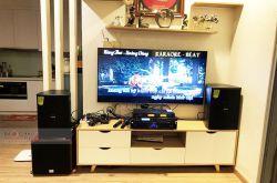 Lắp đặt dàn karaoke anh Mạnh tại Hà Nội (Domus DP6100, Sansui S2 650, X5 Plus, SW512C, BCE U900)
