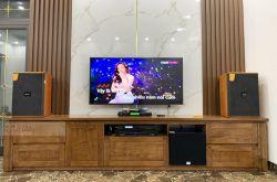 Lắp đặt dàn karaoke anh Nghĩa tại Hà Nội (Domus DK612, APP MZ-86, X5 Plus, SW312-B, U900 Plus X)