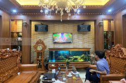 Lắp đặt dàn karaoke anh Tài tại Bắc Giang (JBL KI312, BKSound DKA8500, Sub1000 New)