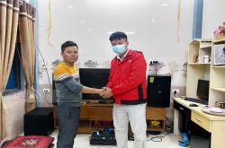 Lắp đặt dàn karaoke anh Thắng tại Hà Nội (Domus DP6120, APP MZ86, KX180, R120SW, VM200)