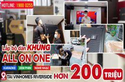 Lắp đặt dàn karaoke anh Trường tại Hà Nội (CMAX 4112, EMAX 3112, VM420A, TD8004, K9900II, RP-504C...)