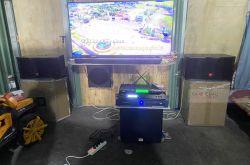 Lắp đặt dàn karaoke anh Tuấn tại Bình Dương (JBL CV1052T, Crown T5, X5 Plus, SW512, U900 Plus X)