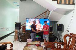 Lắp đặt dàn karaoke chị Lưu tại Thanh Hóa (Domus DP6100, Crown T5, X5 Plus, SW512B, UGX12 Luxury...)