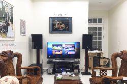 Lắp đặt dàn karaoke gia đình anh Anh tại Hà Nội (RCF CMAX 4112, Xli3500, KX180, 702-ASII, VM200)