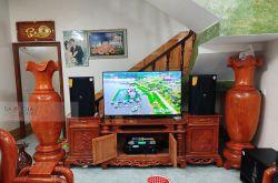Lắp đặt dàn karaoke gia đình anh Diện tại Hưng Yên (JBL KPS2, VM630A, X5 Plus, UGX12)