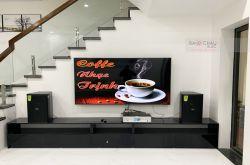 Lắp đặt dàn karaoke gia đình anh Hùng tại Hà Nội (Domus DP6100, BKSound DKA6500)