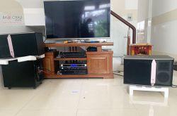 Lắp đặt dàn karaoke gia đình anh Sơn tại Bình Dương (JBL KI512, VM620A, Lenovo KX850)