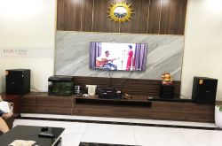 Lắp đặt dàn karaoke gia đình anh Sơn tại Hà Nội (Domus DK612S, VM1020A, BPR8500, SW612C, BJ-U600)