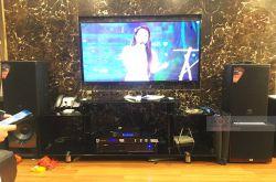 Lắp đặt dàn karaoke gia đình anh Sơn tại Hà Nội (MTS10, VM420A, KX180, JBL A100P, VM200)