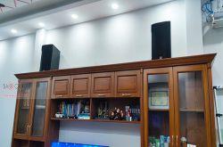 Lắp đặt dàn karaoke gia đình anh Tuấn tại TP HCM (RCF CMAX 4110, IPS 2700, K9800, WB-5000S)